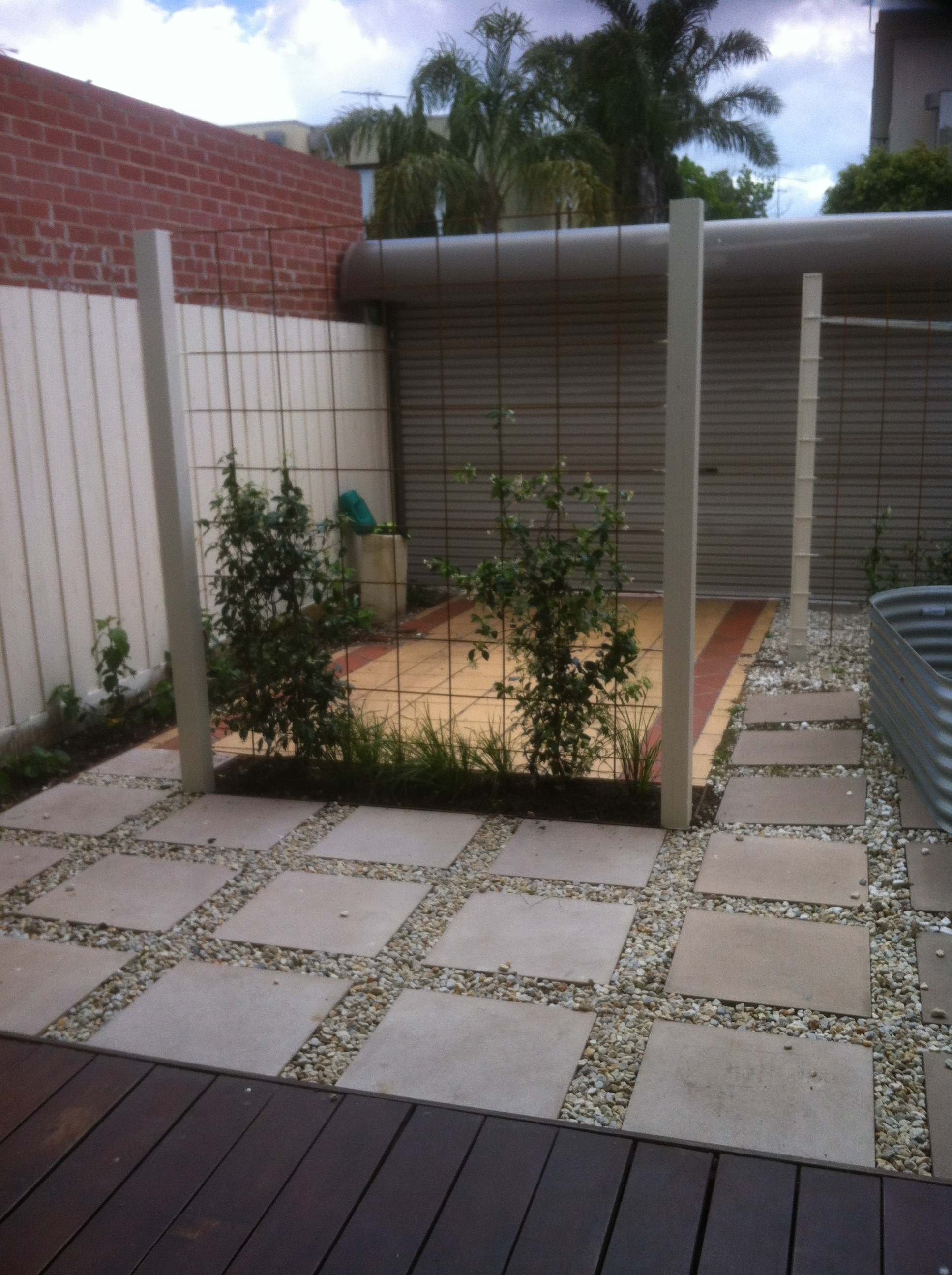 Courtyard In Port Melbourne Small Spaces Garden Design